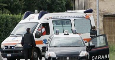carabinieri cc 112 ambulanza 118 giorno