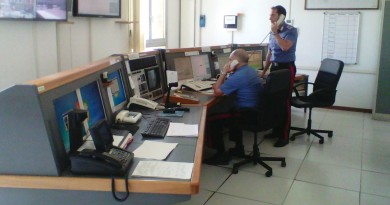 carabinieri cc 112 sala centrale operativa