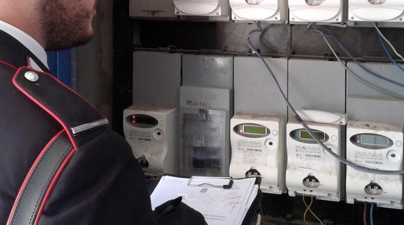 carabinieri cc 112 controllo energia elettrica contatori enel