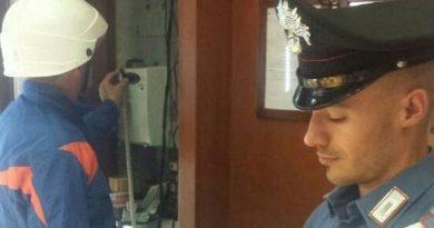 carabinieri cc 112 controllo operatore enel contatore