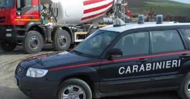 carabinieri cc 112 pattuglia controllo cantiere edile