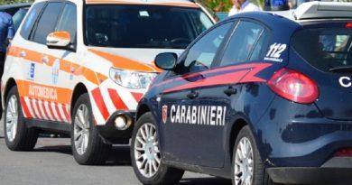 carabinieri cc 112 automedica 118
