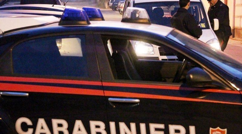 carabinieri cc 112 posto di blocco controllo generica sera notte