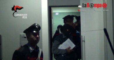 carabinieri cc 112 ros controllo perquisizione sera notte