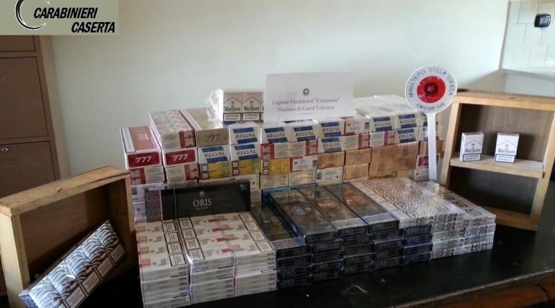 carabinieri cc 112 sigarette contrabbando bionde