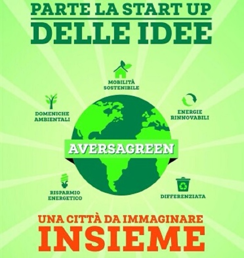 Aversa green la start up delle idee organizzata da for Idee start up usa