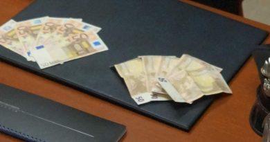 carabinieri-cc-112-banconote-soldi-falsi 50 euro falsi