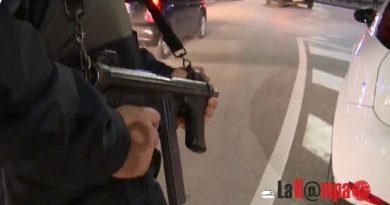 carabinieri cc 112 controllo posto di blocco sera notte generica