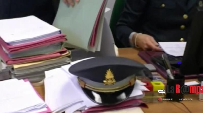 guardia di finanza gdf 117 documenti fascicoli