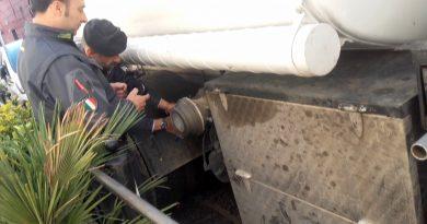 Benevento. Contrabbando di gasolio agricolo: due denunce