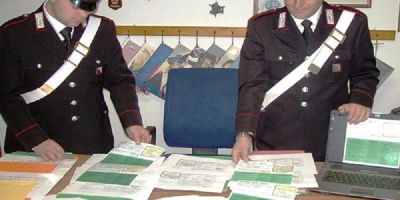 carabinieri cc 112 cid assicurazioni falsi sinistri tagliandi assicurazioni