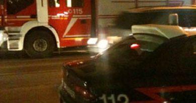 carabinieri cc 112 vigili del fuoco pompieri vvff 115 sera notte