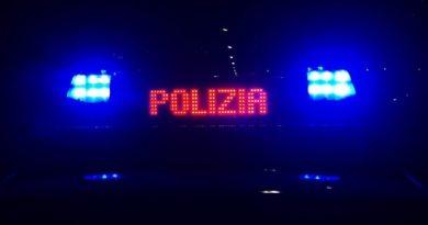 polizia ps 113 volante sera notte generica