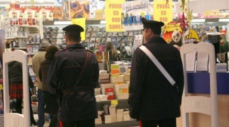 carabinieri cc 112 supermercato generica