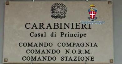 casal di principe carabinieri cc 112 targa stazione tenenza