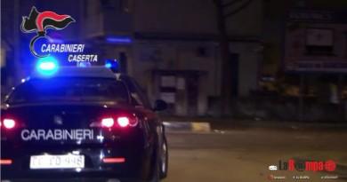caserta carabinieri cc 112 generica sera notte