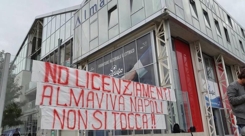 """Napoli. Almaviva, SLC CGIL – Camera Lavoro: """"Vicenda controversa e drammatica"""""""