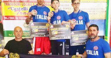 Team Improta Europei Roma vittoria