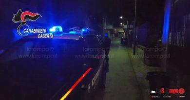caserta carabinieri cc 112 sera notte