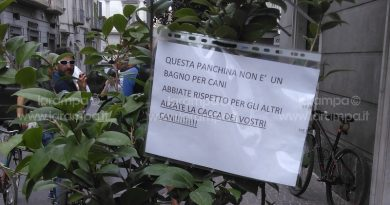 aversa cartelli via roma deiezioni cani (1)
