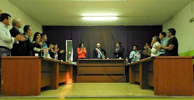 san marcellino Primo consiglio comunale Colombiano