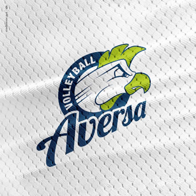 Logo 2016-2017 su un dettaglio di maglia