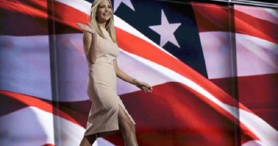 Ivanka Trump, daughter of Republican presidential candidate Donald Trump, walks to the podium during the final day of the Republican National Convention in Cleveland, Thursday, July 21, 2016. (ANSA/AP Photo/Evan Vucci) [CopyrightNotice: Copyright 2016 The Associated Press. All rights reserved. This material may not be published, broadcast, rewritten or redistribu]