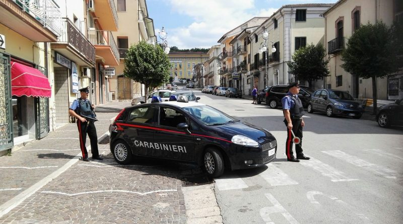 Pratola Serra carabinieri cc 112