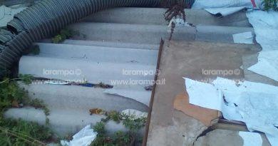 amianto Carinaro _Teverola   zona  industriale (2)