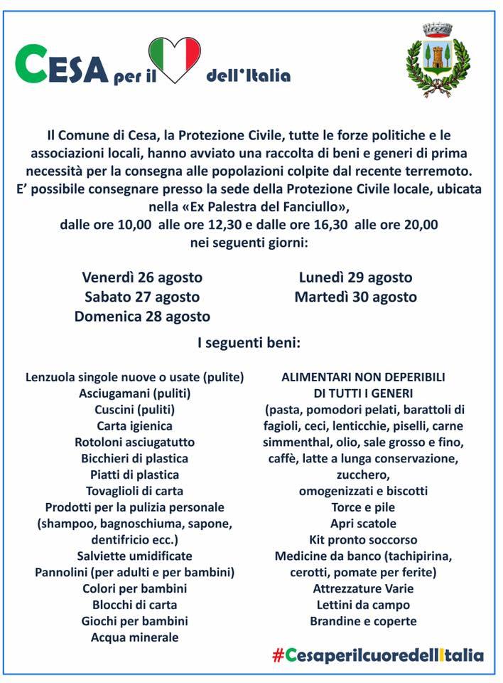 cesa locadina terremoto centro italia