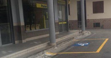 cesa parcheggio ufficio postale