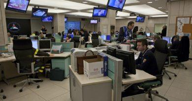 protezione civile sala comunicazione radio