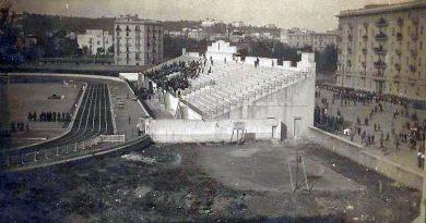 Costruzione dello Stadio Collana
