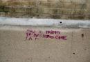 Parco Pozzi, vandali con bombolette imbrattano la pavimentazione