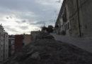 (Foto) Crolla la storia di Napoli! Crolla il monte Echia