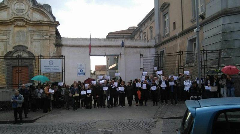 aversa-sciopero-personale-tribunale-napolinord