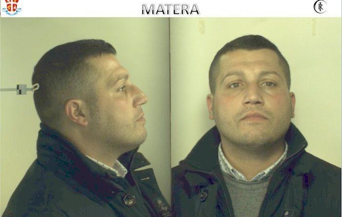 Fabio Falanga, arrestato dai Carabinieri per una truffa consumata ai danni di un'anziana di Pomarico (Matera)
