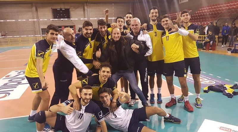 Volley Serie C/M. Romeo Normanna, i gialloblù battono il Centro Volley San Marco