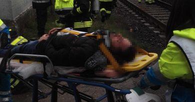 Incendio su treno regionale tra Gricignano-Marcianise: esercitazione PC e Ferrovie