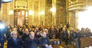 Aversa. Presentazione 'Guercino', chiesa San Francesco stracolma per la presentazione