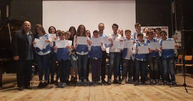 """Concorso Internazionale """"Città di Airola"""", i vincitori della sezioni Scuole musicali e Juniores"""
