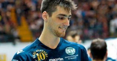 Volley. Colpo internazionale della Sigma Aversa: al centro arriva lo spagnolo Alejandro Vigil Gonzalez