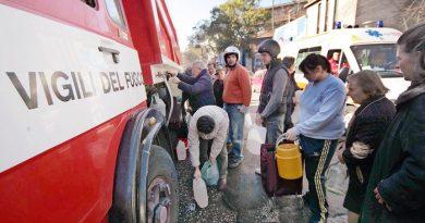 Pesante crisi idrica nell'Avellinese: autobotti per i rifornimenti di acqua