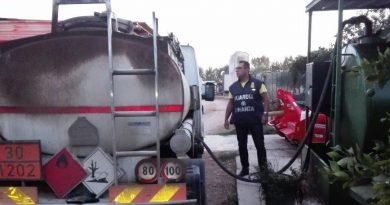 Francolise. Denunciati due titolari di aziende e sequestrato oltre 2mila litri di gasolio di contrabbando