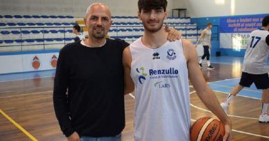 Basket Serie B/M. Federico Di Prampero è un nuovo giocatore della Virtus Arechi Salerno