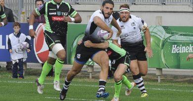 Rugby. EPCR Challenge Cup, Pau vince in rimonta a Parma nel secondo turno